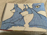 Heroes Comic Project Lucas Werewolf Traditional 7 by MuscleRabbit9090