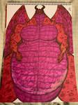 Dragon Fursona Traditional 7 by MuscleRabbit9090