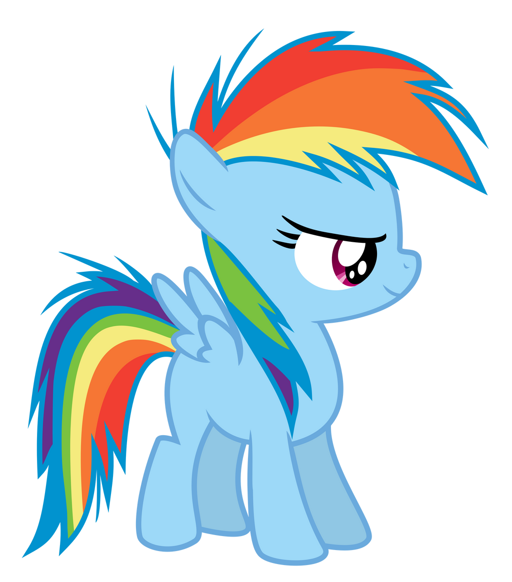 Mlp Filly Rainbow Dash | www.pixshark.com - Images ...