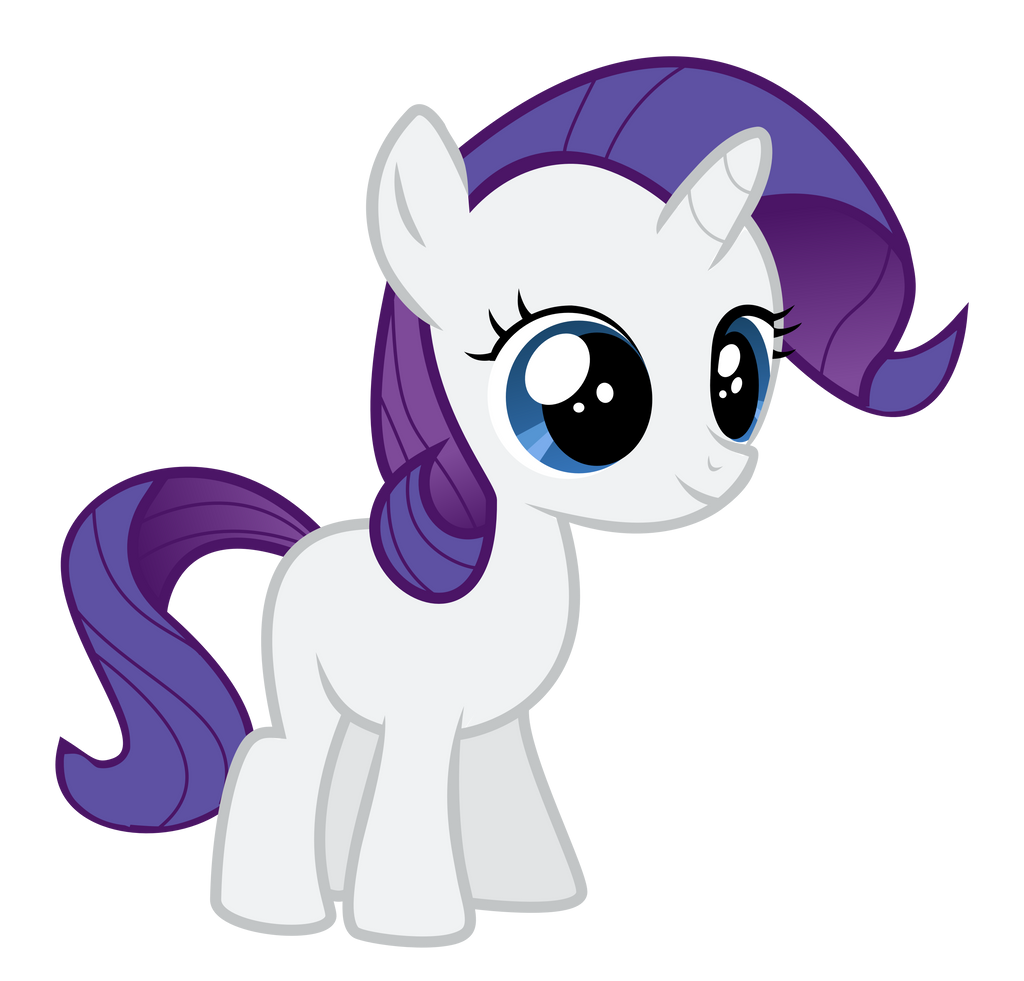 Rarity Filly by Serenawyr on DeviantArt