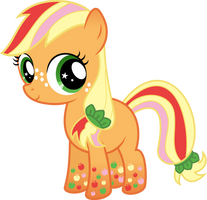 Zap Apple Rainbow Power by Serenawyr