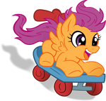Scootering Scootaloo