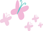 Rainbow Power Cutie Mark: Fluttershy