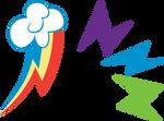 Rainbow Power Cutie Mark: Rainbow Dash