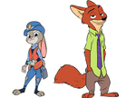 Zootopia - Nick and Judy 2