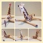 Small Felt Giraffe Plushy