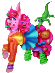 Harajuku Pinkie Pie (speedpaint)