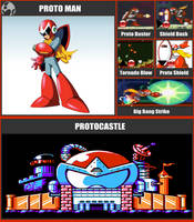 SSBR Moveset - Proto Man by TheDnDking