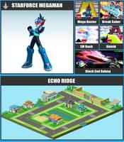 SSBR Moveset - StarForce Mega Man by TheDnDking