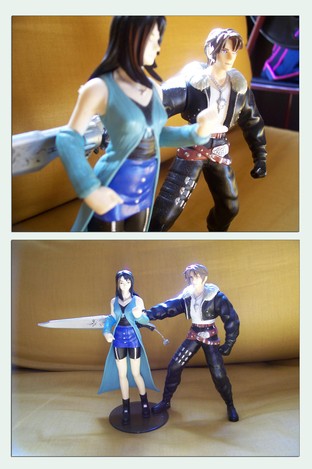 Action Figure Set - FF8 by AuraRinoa