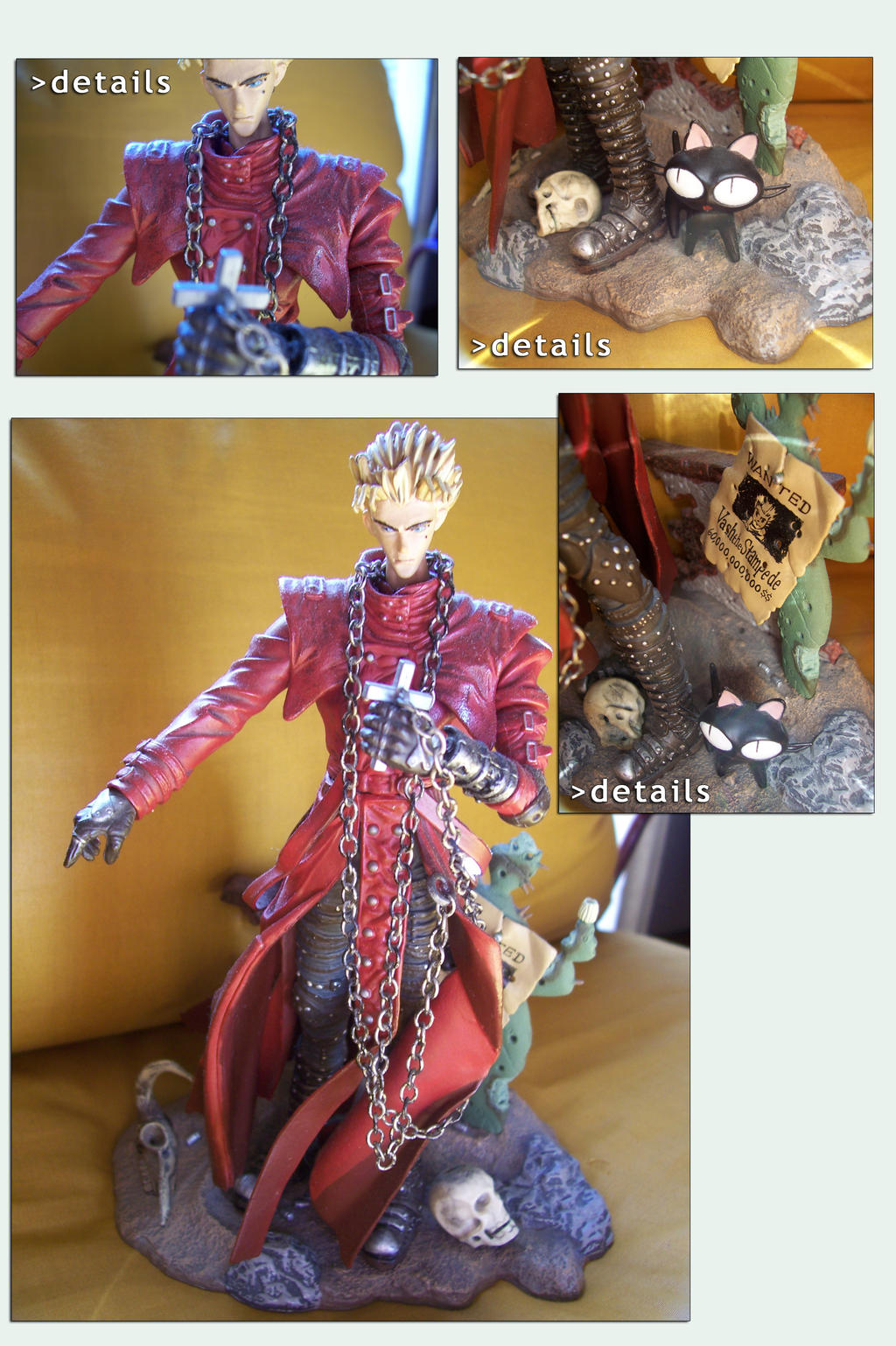 Action Figure Set - Trigun by AuraRinoa