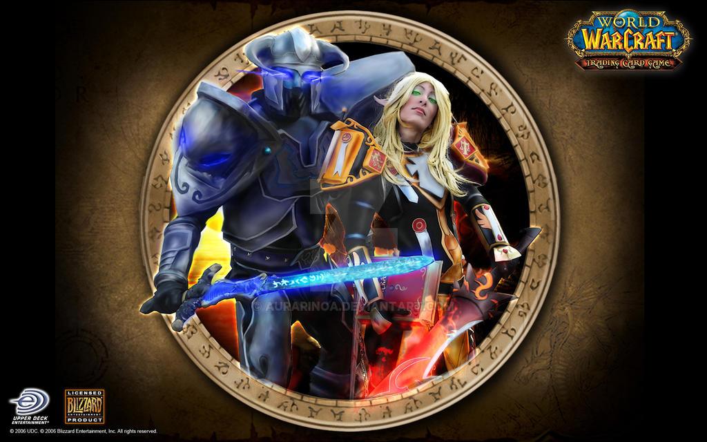 World of Warcraft Wall Rewamp by AuraRinoa