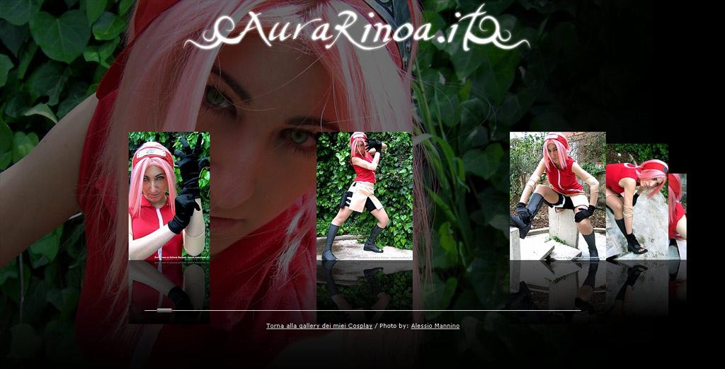 Sakura Haruno Shooting web by AuraRinoa