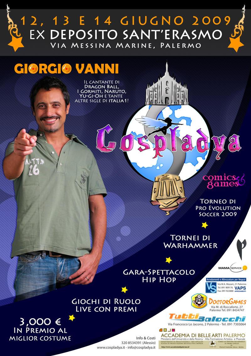 Cospladya Giorgio Vanni Live by AuraRinoa