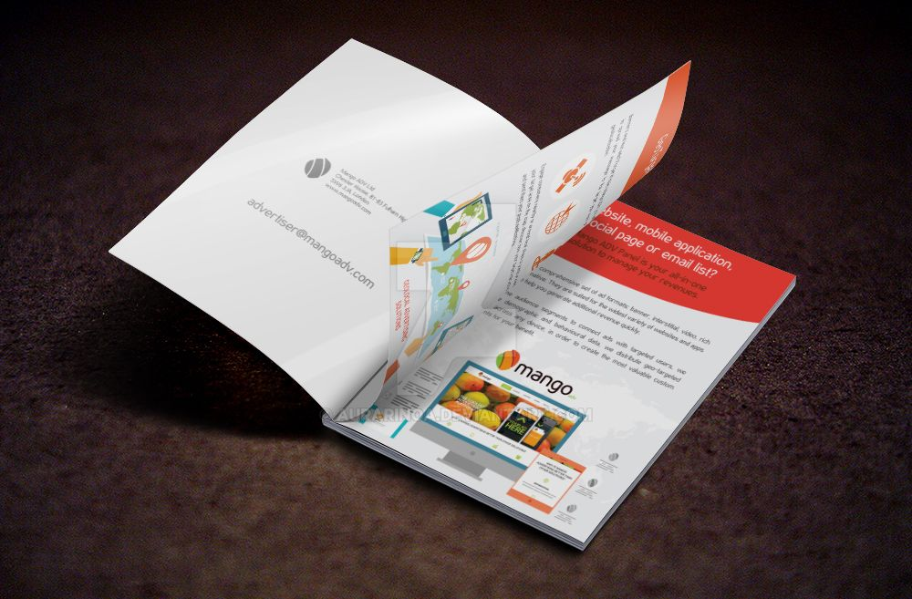 Brochure Mango by AuraRinoa