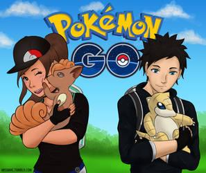 Pokemon Go! by MissMHC