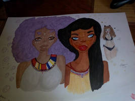 afro girls