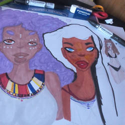 wip afro
