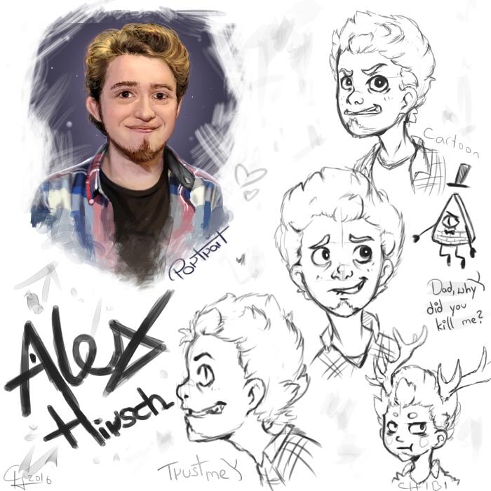 Alex hirsch art