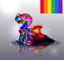 [Pride dragon]
