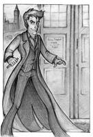 Doctor Who by reaperfox