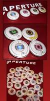 Portal 2 Personality Core Pins