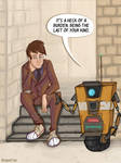The curse of the Time Lord. And Hyperion robots. by reaperfox