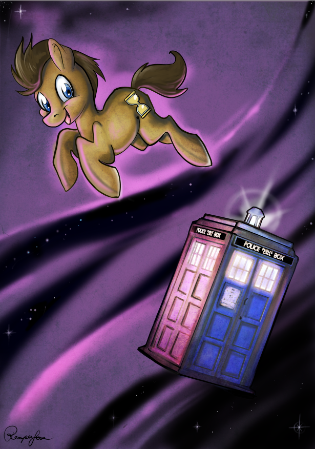 Doctor Whooves by reaperfox