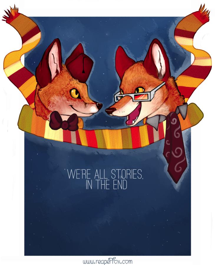 Fandom Foxes! - Who? by reaperfox