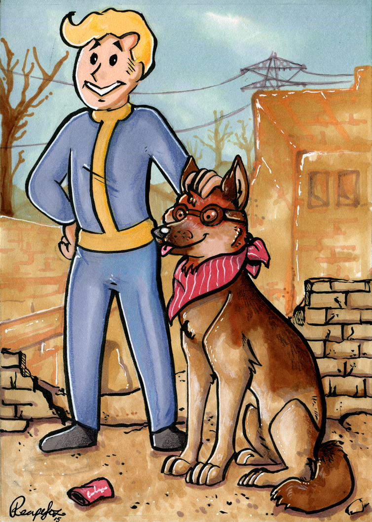 Fallout 4 by reaperfox