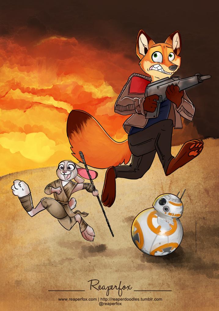 Zootopia Wars by reaperfox