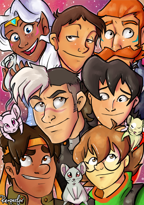 Voltron by reaperfox