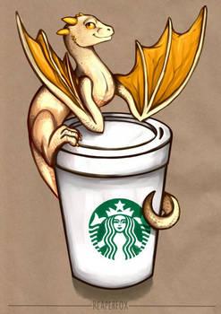 Coffee Cup Dragon