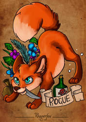 Dungeons  Foxes // The Rogue!