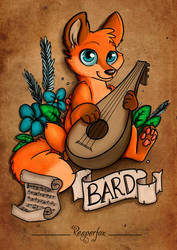 Dungeons  Foxes // The Bard!
