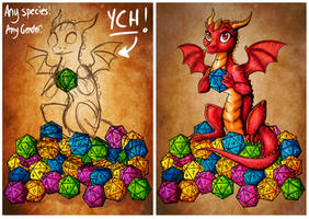 Dice Hoarder - Multi Slot YCH!