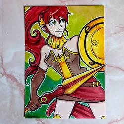 Pyrrha Marker Card