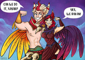 Xayah and Rakan - we can do it!
