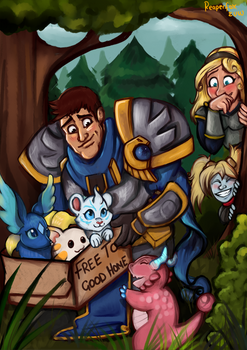 Garen and The Little Legends