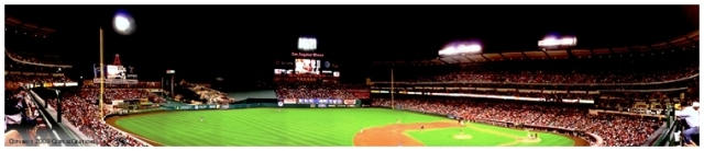 Angels Stadium Panorama by CaspersCreations