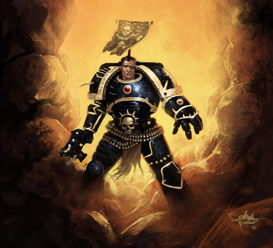 Space Marine by SaturnoArg