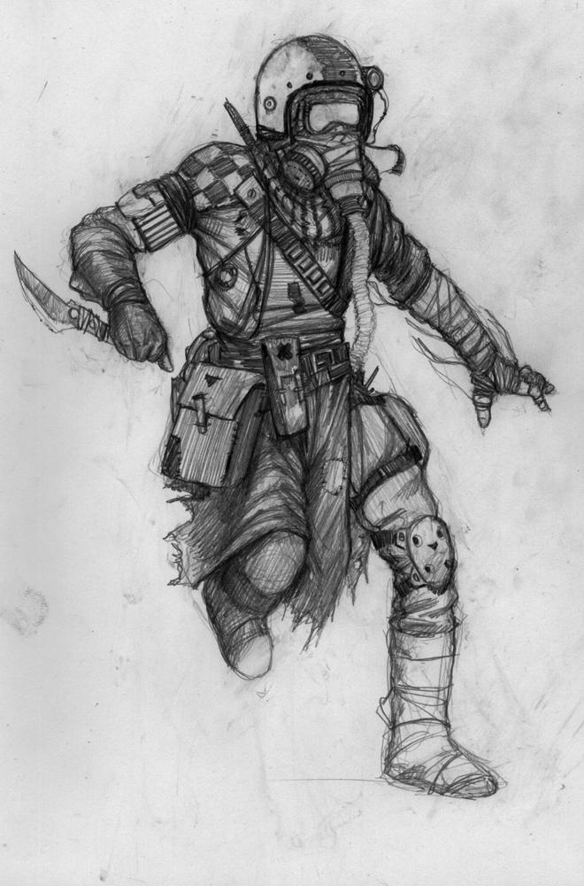 Character Sketch by SalvadorTrakal on DeviantArt