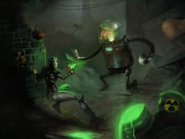Robotron 2000 by SalvadorTrakal