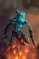 Death Colossus by SalvadorTrakal