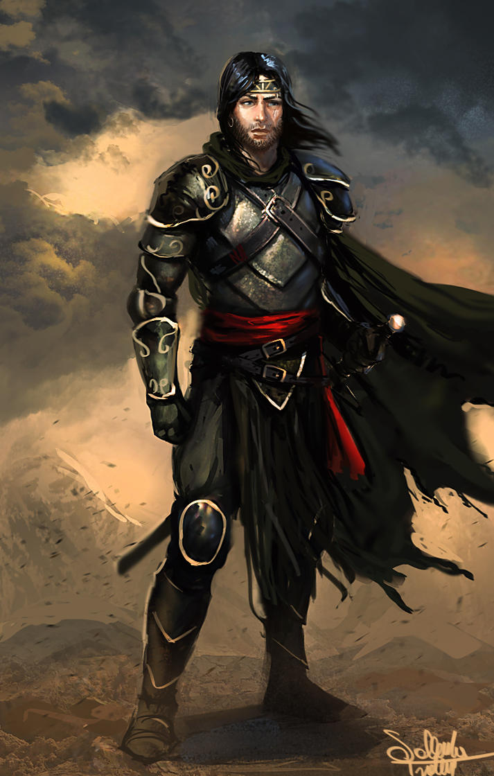 Human Warrior by SalvadorTrakal