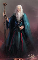 Human Wizard by SalvadorTrakal