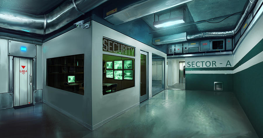 Sector A Security by SaturnoArg
