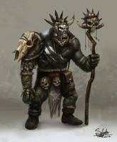 Orc Shaman by SalvadorTrakal