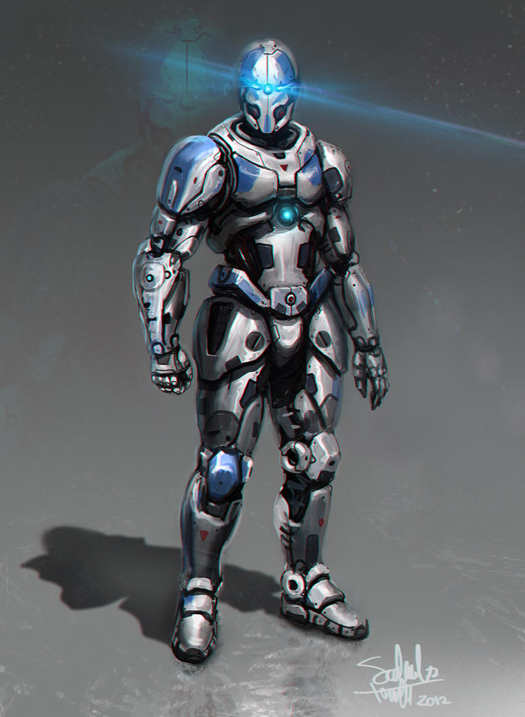 Armor Concept by SalvadorTrakal