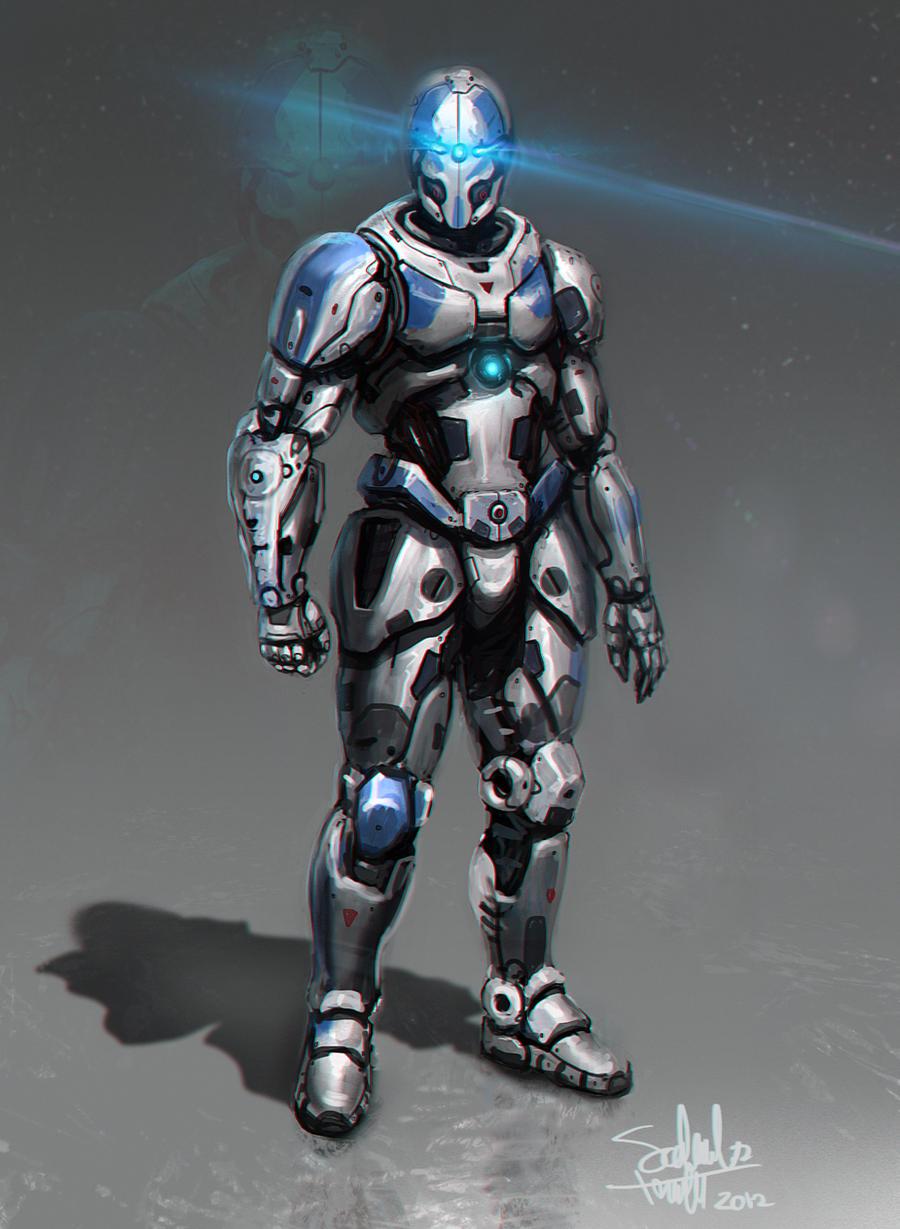 Armor Concept by SalvadorTrakal on DeviantArt